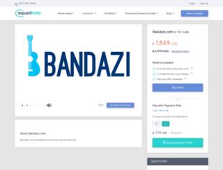 bandazi.com screenshot