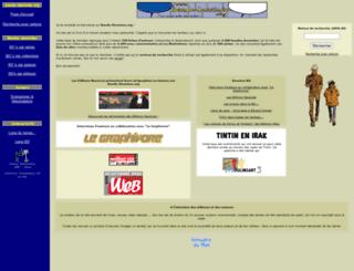 bande-dessinee.org screenshot