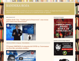 banderaroja.blogspot.com screenshot