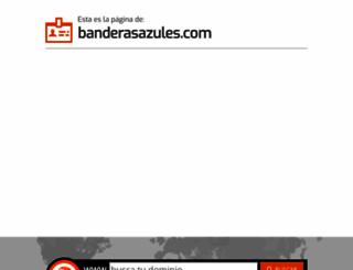 banderasazules.com screenshot