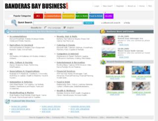 banderasbaybusiness.com screenshot