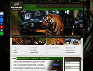 bandhavgarh-national-park.com screenshot