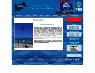 bandierablu.org screenshot