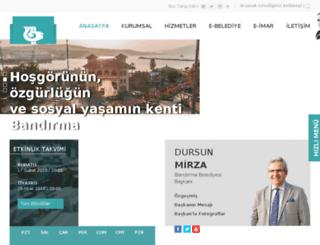 bandirma-bld.gov.tr screenshot