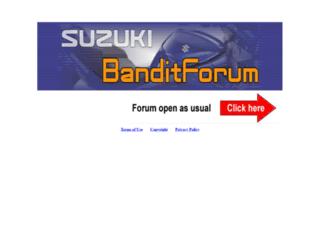 banditforum.co.uk screenshot
