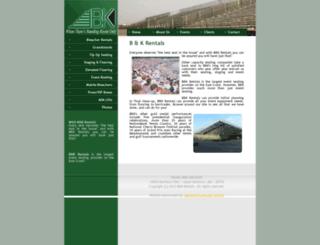 bandkrentals.com screenshot
