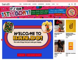 bando.com screenshot