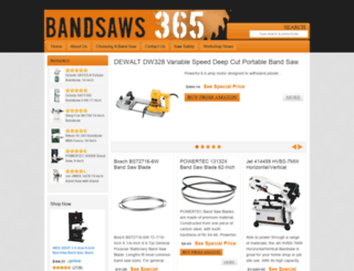 bandsaws365.com screenshot