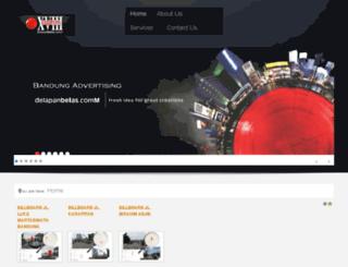 bandungadvertising.com screenshot