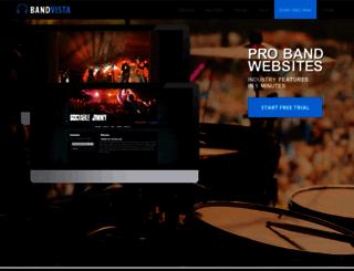 bandvista.com screenshot