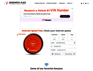 bandwidthplace.com screenshot