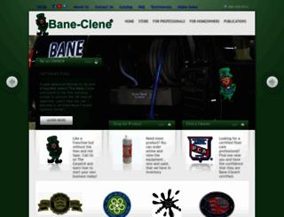 baneclene.com screenshot