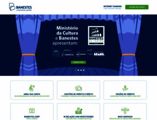 banestes.com.br screenshot