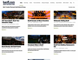 banff.com screenshot