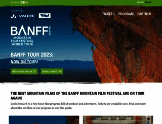 banffmountainfilm.de screenshot