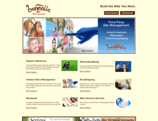bangallawebservices.com screenshot