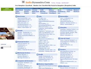 bangalore.indiadynamics.com screenshot