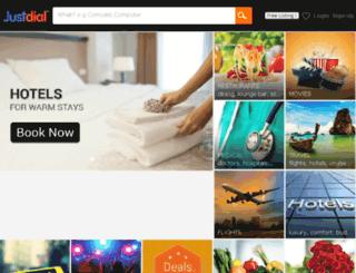 bangalore.justdial.com screenshot