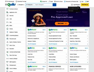 bangalore.quikr.com screenshot