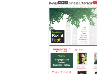 bangalorebizlitfest.org screenshot