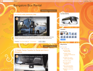 bangalorebusrental.blogspot.in screenshot