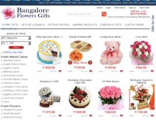 bangaloreflowersgifts.com screenshot