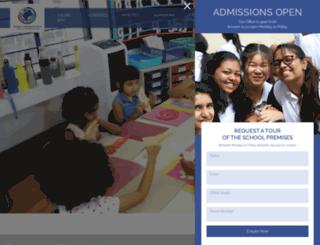 bangaloreinternationalschool.org screenshot