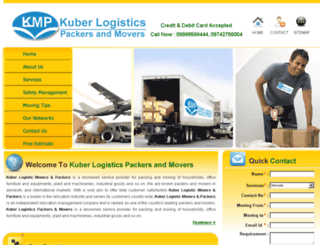 bangalorepackers.com screenshot