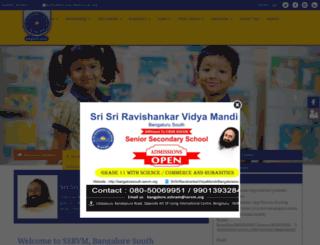 bangaloresouth.ssrvm.org screenshot