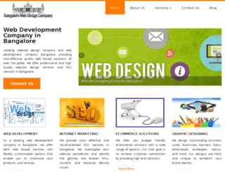 bangalorewebdesigncompany.in screenshot