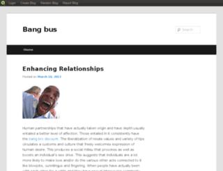 bangbus.blog.com screenshot