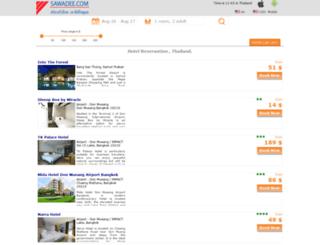 bangkok.sawadee.com screenshot
