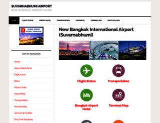 bangkokairportonline.com screenshot