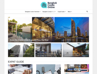 bangkokcondoonline.com screenshot