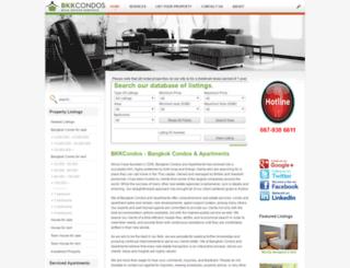 bangkokcondos.org screenshot