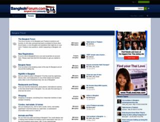 bangkokforum.com screenshot