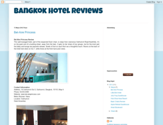 bangkokhotelreviews.blogspot.com screenshot