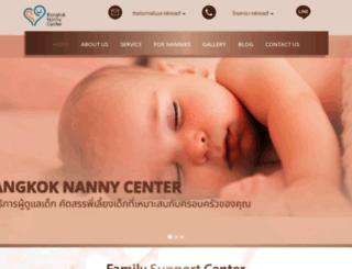 bangkoknanny.com screenshot