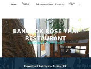 bangkokrose.com.au screenshot