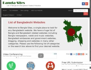 bangla-sites.com screenshot