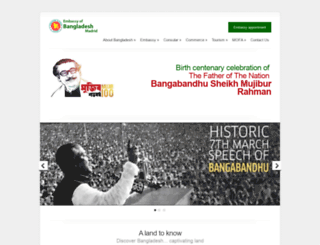 bangladeshembassy.es screenshot
