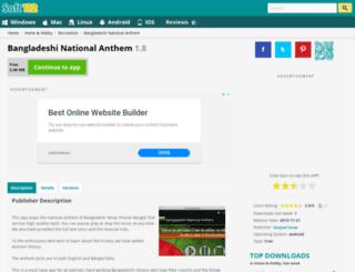 bangladeshi-national-anthem.soft112.com screenshot