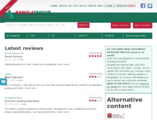 bangladvisor.com screenshot