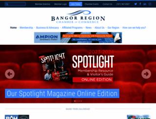 bangorregion.com screenshot