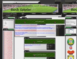 baniksokolov04.cz screenshot