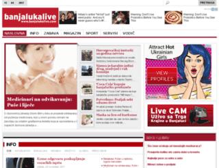banjalukalive.com screenshot