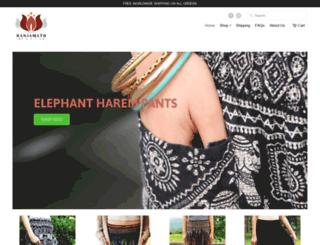 banjamathpants.myshopify.com screenshot
