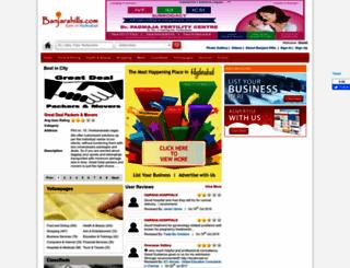banjarahills.com screenshot