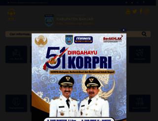 banjarkab.go.id screenshot