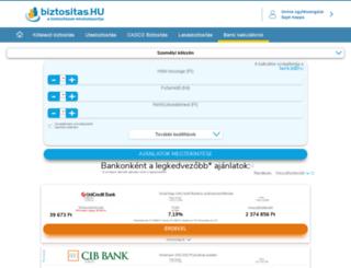 bank.biztositas.hu screenshot